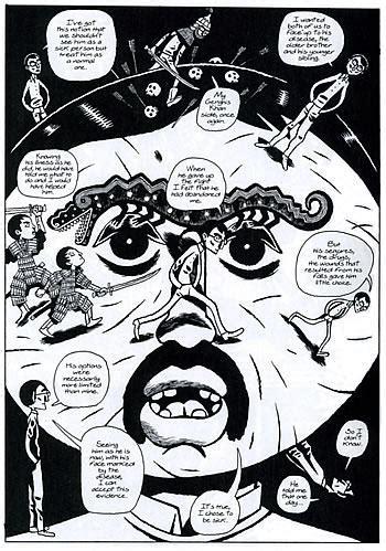 Buku Komik Graphic Novel Dalai Lama graphic novel anink mengintip dunia