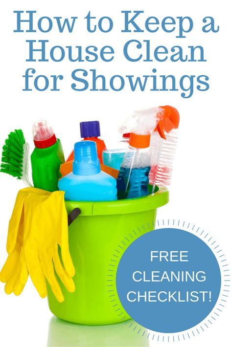 how to clean a house how to keep a house clean for showings