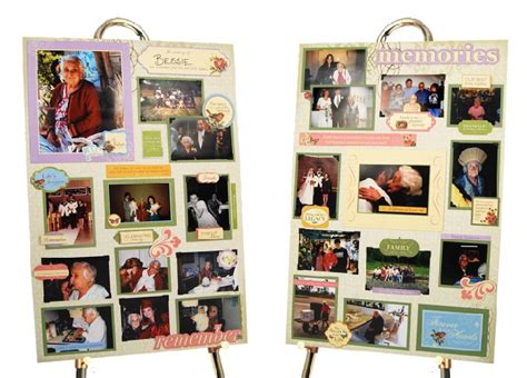 picture board ideas memory boards for funerals next gen memorials