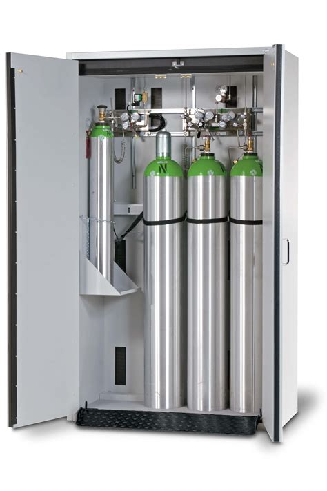 Gas Bottle Storage Cabinet Gas Cylinder Cabinets En 14470 2 Asecos Laboratory Equipment