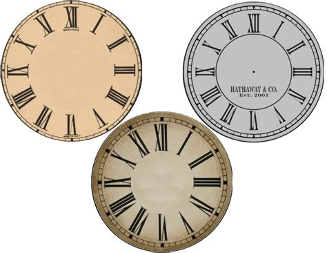 free printable cd clock faces new years free clock face printables cd size and plate