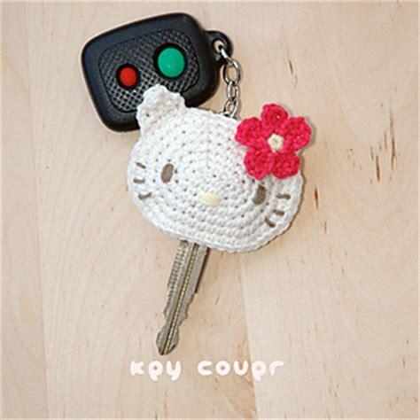 pattern crochet key cover ravelry hello kitty key cover pattern by kittying ying