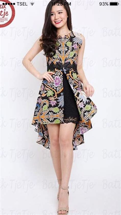 Roc Dress Batik best 25 modern batik dress ideas on rok batik