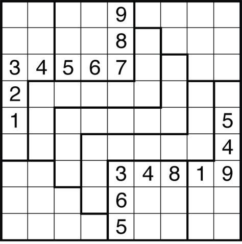 printable jigsaw sudoku puzzles free jigsaw sudoku puzzles by krazydad