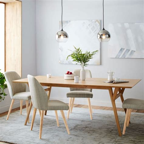 Modern Dining Table And Chairs 10 Oak Dining Tables That You Need For Your Dining Room