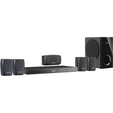 panasonic sc xh150 5 1 dvd home theater system sc xh150 b h