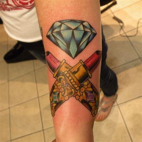 55 luxury diamond tattoo designs and meaning treasure
