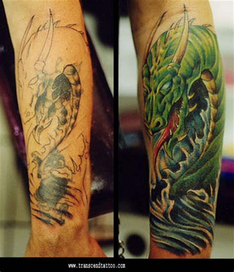 tattoo cover up dragon dragon cover up by anthony plaza tattoonow