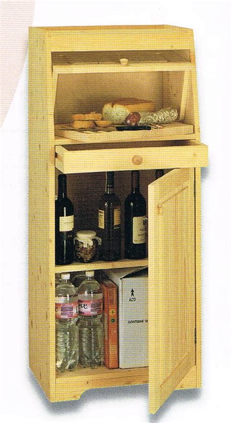 dispensa pane e vino mobile dispensa pane bricowood net