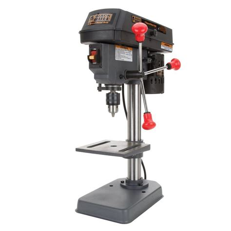 buffalo tools 4 in 5 speed mini drill press dp5ul the