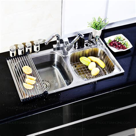 kitchen sink accessories kubus polished stainless best kitchen sinks nickel brushed stainless steel with