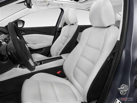 mazda 6 car seat leather 2016 mazda mazda6 pictures front seat u s news world
