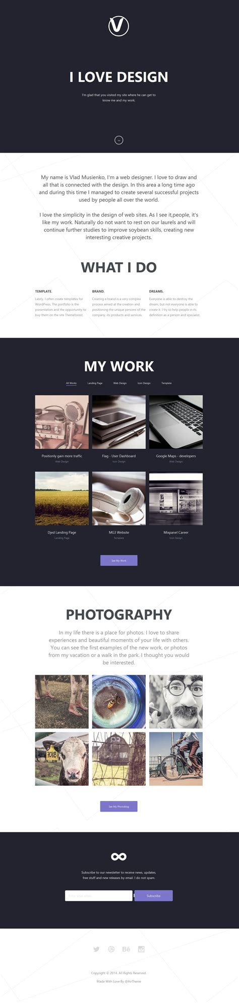 Free Corporate And Business Web Templates Psd Personal Business Website Templates