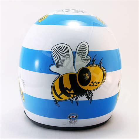 Helm Retro Kulit Klasik Sni Motif Pakai Kacamata Crome helm retro jpn kaca bogo motif pabrikhelm jual helm