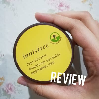 Harga Innisfree Jeju Volcanic Blackhead Out Balm innisfree jeju volcanic blackhead out balm review