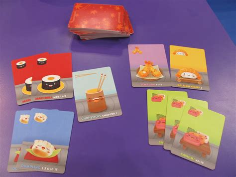 Sushi Gift Card - sushi go cards purple pawn