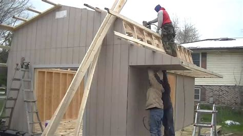 time lapse     amish shed barn   minutes