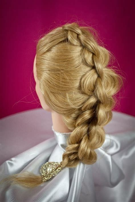 pearl french braids 4 strand round braid diy braids pinterest watches