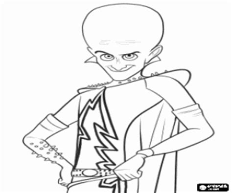 Megamind Coloring Pages Printable Games Megamind Coloring Pages Printable