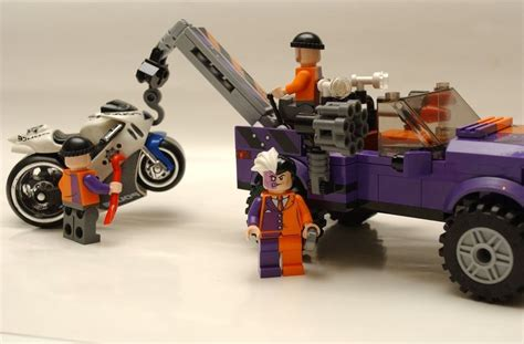 Lego Two Faces Car Part Out Set 6864 batmobile two 6864 lego batman superheroes set