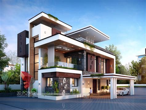 Beautiful Smart Home Interior Design #8: 3d-architectural-rendering-bungalow.jpg