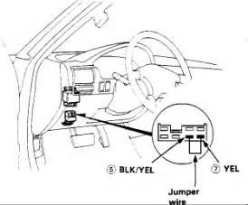 1991 honda accord dx relay positive battery terminal 4