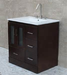 low prices 30 bathroom vanity solid wood cabinet ceramic