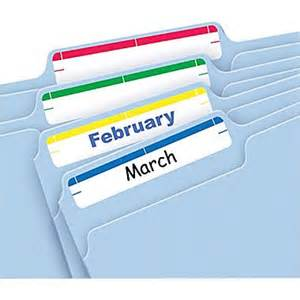 avery 174 5215 print or write assorted file folder labels