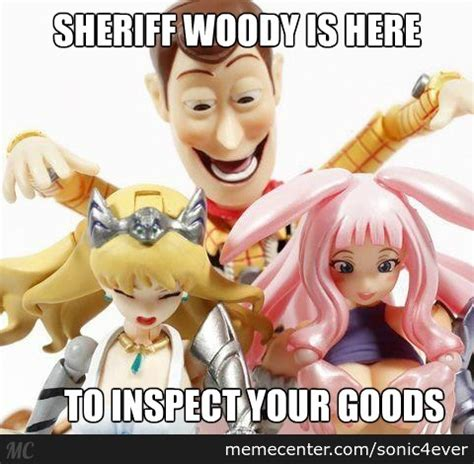 Woody Doll Meme - sheriff woody by sonic4ever meme center