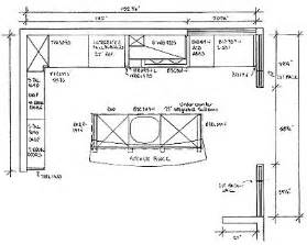 Floor Plans For Kitchens Kris Allen Daily Plan With Dimensions And Nomenclature