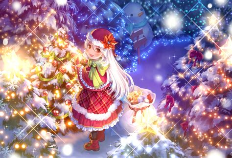 hd anime christmas wallpaper original full hd wallpaper and background 2000x1371 id