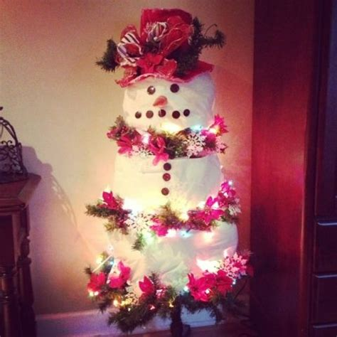 4 ft snowman christmas tree 17 best images about trees on white trees trees and trees