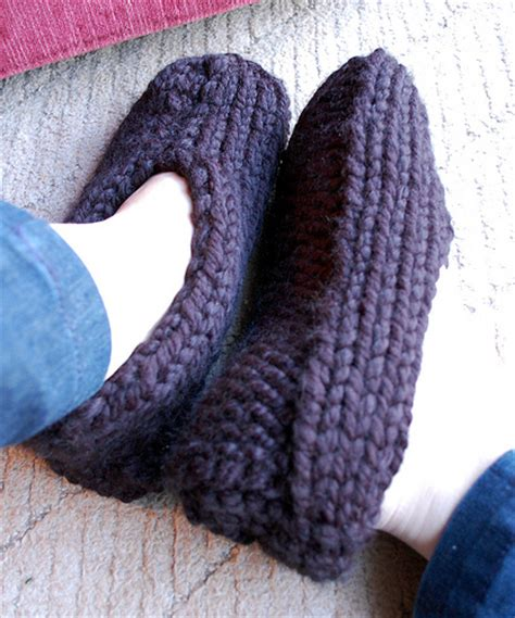 the slipper and the free warm slippers to knit for 10 free patterns