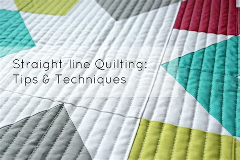 Quilt Tips by Free Line Quilting Tips Techniques By Megan