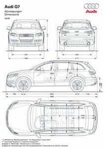 Audi Dimensions Audi Q7 2010 Cartype
