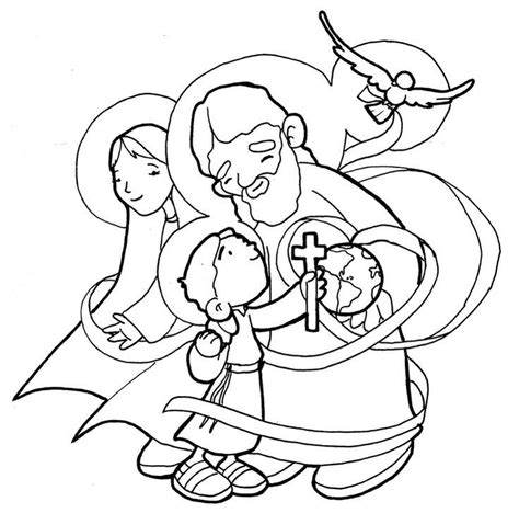 coloring page holy family holy family coloring pages coloring home