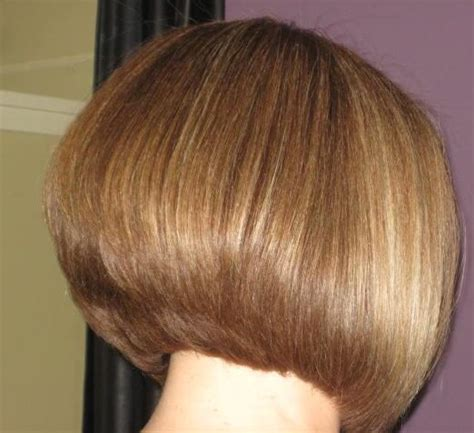 Short Graduated Bob Back View | pin graduated bob back view hairstyles haircuts short