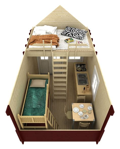 bunkie floor plans bunkie prefab log cabin kit 150 sqft