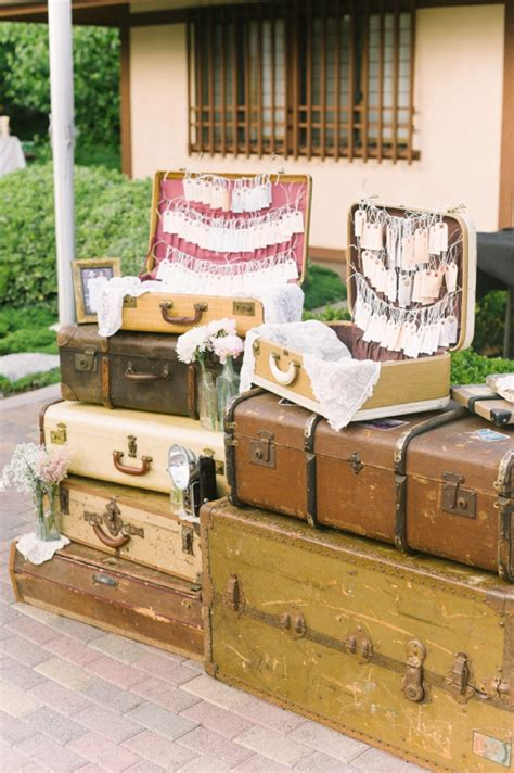 travel theme blush vintage travel themed wedding every last detail