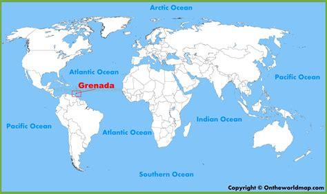 where is grenada located on a world map grenada location on the world map