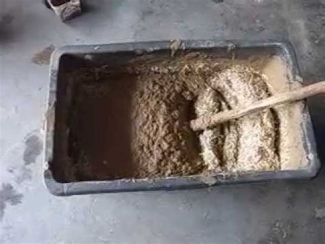 lehm herstellen lehmputz selbst gemischt