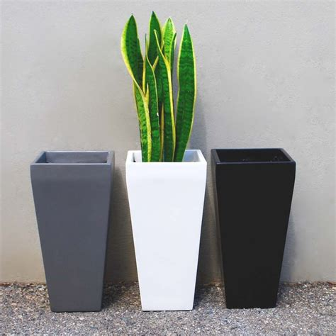 modern indoor planters tall planters large planter boxes tall planters plastic