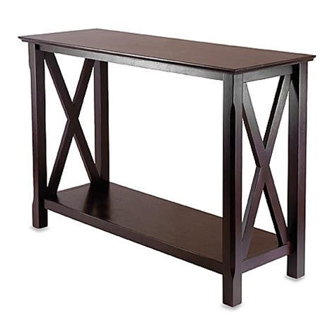 bathroom console tables buy xola console table from bed bath beyond