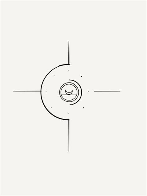 compass tattoo minimalist minimalist compass tattoo design by bunnysartblog on