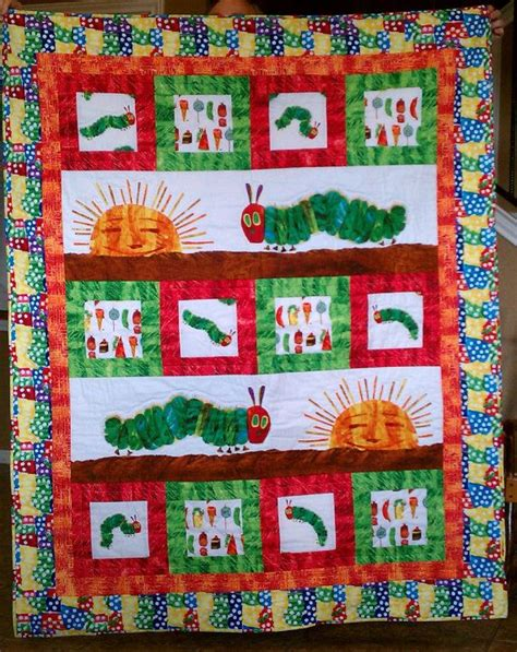 quilt pattern very hungry caterpillar 169 best quilt panels images on pinterest panel quilts
