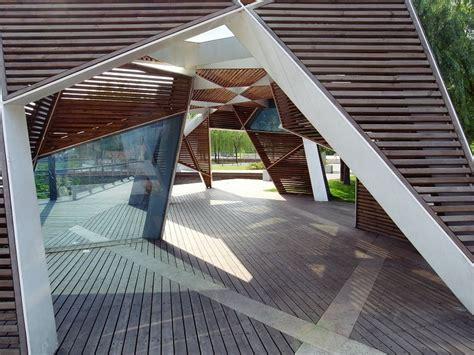 Modern Interior panoramio photo of a modern art pavilion in the park