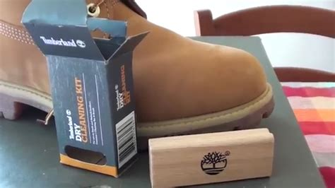 timberland shoe cleaner timberland cleaning kit unboxing review
