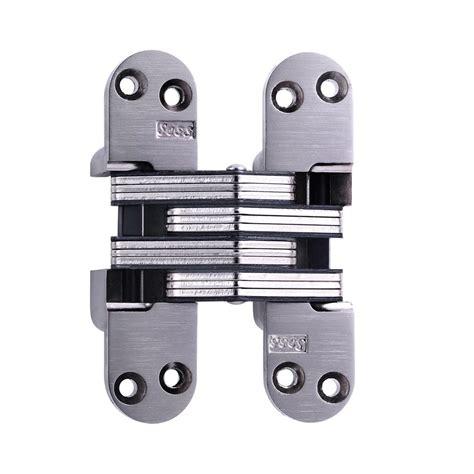 soss mortise mount invisible hinge soss mortise mount invisible hinges with 4 holes zinc