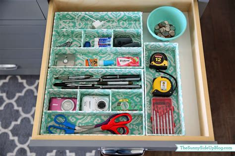 Picture Of Kitchen Islands Organized Junk Drawer The Sunny Side Up Blog