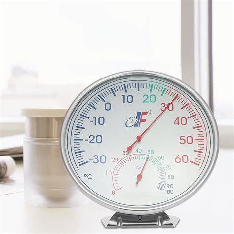Thermometer Analog 30 60 176 c stainless steel analog thermometer